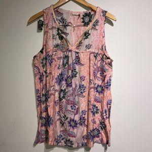 Akemi + Kin Floral printed shirt